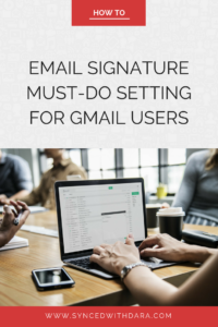 gmail, google, email signature, tips