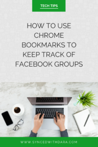google, chrome, bookmarks, facebook groups