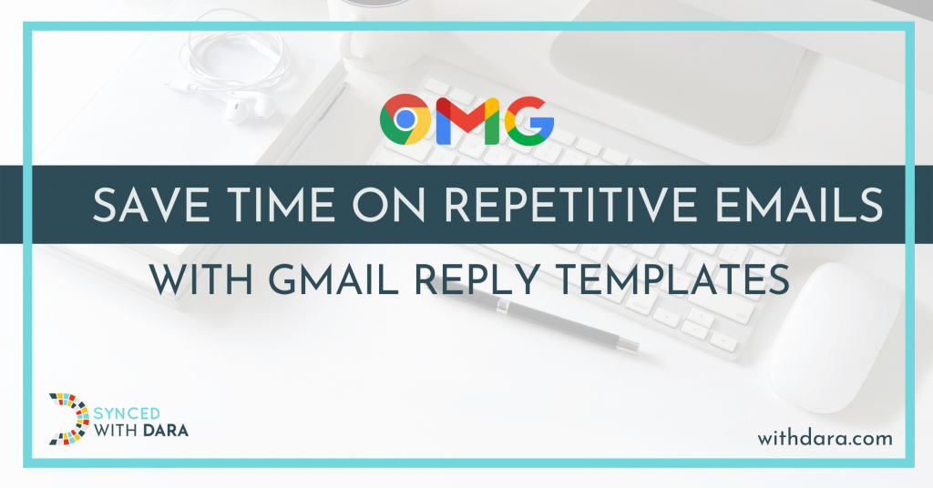Save Time on Repetitive Emails with Gmail Reply Templates
